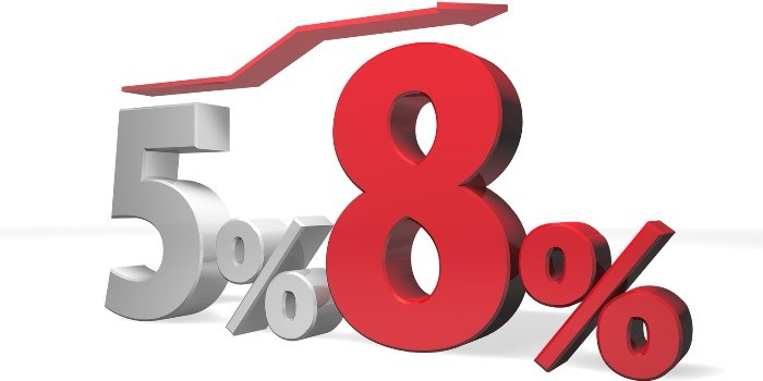 消費税増税に伴う疑問点!5% 8%?どっちの税率で計算?